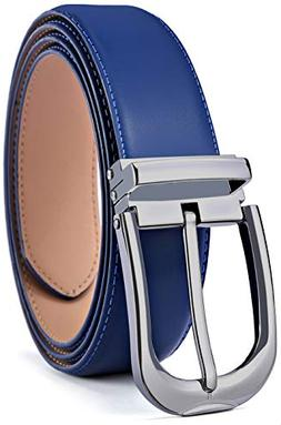 Men's Belt,Bulliant Leather Adjustable Belt for Men Dress Ca