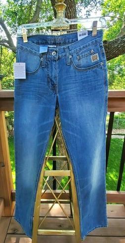 Cinch Men's Bridger Straight Leg Mid Rise Denim Jeans NWT Si