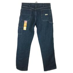 Wrangler Men's Carpenter Jeans 36x34 Loose Fit Real Confotab