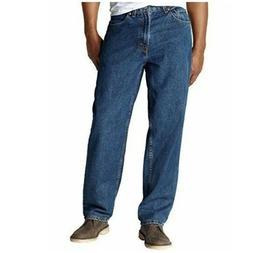 Kirkland Men's Classic Denim Jeans Mid-Tone Blue 5 Pocket Pi