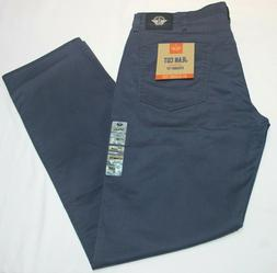 Men's Dockers Dark Blue Jean Cut Straight Fit All Seasons Te