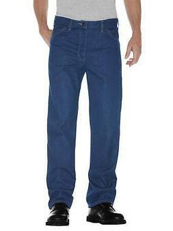 Dickies Men's Fit 5-Pocket Denim Jean Stonewashed Indigo Blu