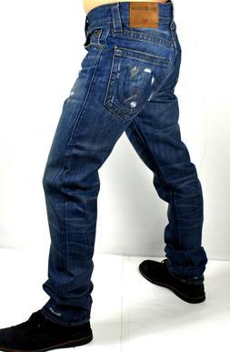 True Religion Men's Geno Slim Straight Jeans - MDAJ19N21N