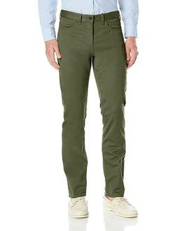 Dockers Men's Jean Cut Soft Stretch Slim-Fit Pant Olive Gree