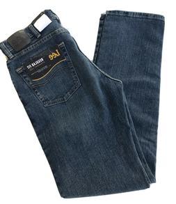 LEE Men's Jeans Regular Fit Straight Leg Active Stretch Leve