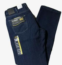 LEE Men's Jeans Regular Fit Straight Leg Sits at Waist Orion