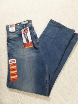 352d5977 Men's Wrangler Jeans Relaxed Boot size 32 × 32 RN 130273 Bl