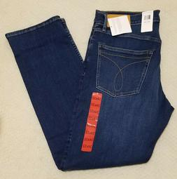 MEN'S CALVIN KLEIN JEANS STRAIGHT FIT  34 X 32 - AUDE BLUE -