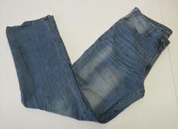 Men's Calvin Klein Jeans Straight Leg Jean-Light Wash Size: