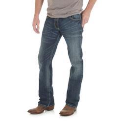 Wrangler Men's Layton Retro Limited Edition Slim Boot Jeans