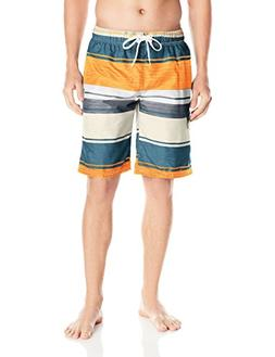 Kanu Surf Men's Legacy Swim Trunks, Impact Denim Multi, XX-L
