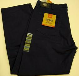 Men's Levi Dockers Jean Cut Blue Khaki Stretch Straight-Fit
