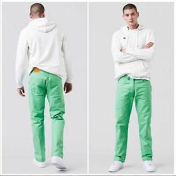 Men's Levi's 501 Original Shrink To Fit Colored Denim Jeans