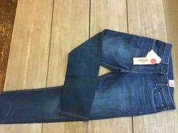 Men's Levis 502 Regular Taper Stretch Denim Medium Wash Jean