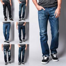 Men's Made in USA Straight Fit  Denim Premium Selvedge Jeans