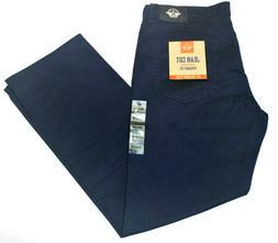 Men's Dockers Navy Blue Jean Cut Straight Fit All Seasons Te