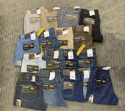 Lee Men's Regular Fit Denim Jeans Classic Straight Leg New 2