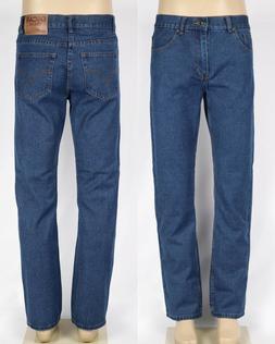 OSCAR Men's Regular Fit Straight Leg Classic Denim Jeans