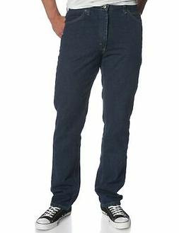 Lee Men's Regular Fit Straight Leg Jean, Dark Ston - Choose