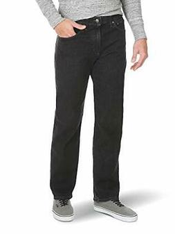 Wrangler Men's Relaxed Fit Comfort Flex Waist Jean, Dark Den