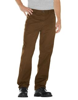 Dickies Men's Relaxed Fit Straight Leg Carpenter Jeans, Timb