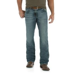 Wrangler Men's Retro Relaxed Fit Mid Rise Boot Cut Jeans  *N