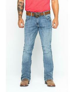 Wrangler Men's Retro Slim Fit Boot Cut Jeans  - 77MWZGL