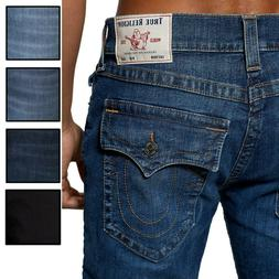 True Religion Men's Ricky Straight Fit Stretch Jeans in Ligh