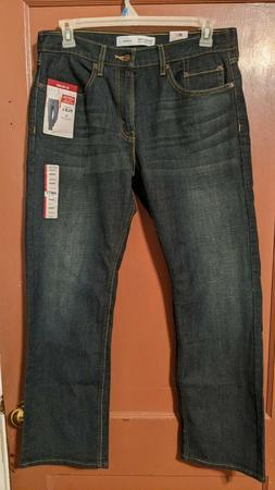 MEN'S SIGNATURE LEVI STRAUSS S61 RELAXED FIT JEANS-PREMIUM F