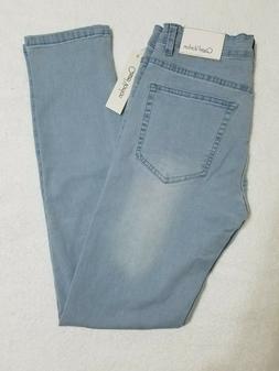 Qazel Vorrlon Men's Skinny Jeans Stretch Washed Slim Fit Pen