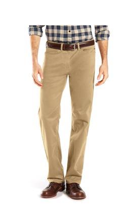 Men's Dockers Soft Stretch Jean Cut Straight-Fit Pants khaki