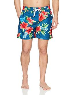 Kanu Surf Men's Starfish Quick Dry Beach Volley Swim Trunks,