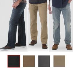 Wrangler Men's Straight Fit 5 Pocket Pants Jeans with Flex