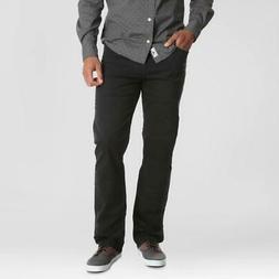 Wrangler Men's Straight Jeans with Flex For Comfort - Black