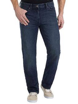 Calvin Klein Men's Straight Leg Jean - 485 Osaka Blue - Size