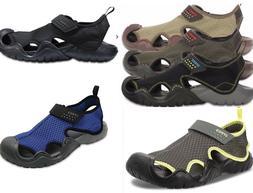 Men's CROCS SWIFTWATER  Sandals  BLACK, ESPRESSO BROWN,  GRE