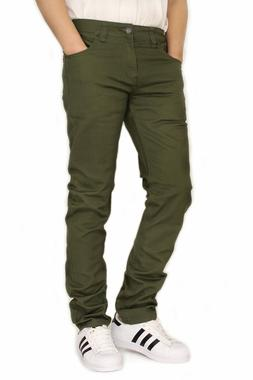 MEN'S TWILL STRETCH SKINNY JEANS VICTORIOUS 17 COLORS WAIST