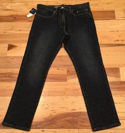Gap Men's 34 X 30 Dark-Wash  Jeans. Dark Blue-Wash Denim.