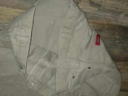 MENS BEIGE JEANS DICKIES JEANS BEIGE WILL FIT 35X30