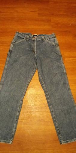 Mens Lee Carpenter Blue Jeans