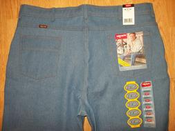 Mens Wrangler Comfort Stretch Flex Fit Waist Denim Jeans Siz