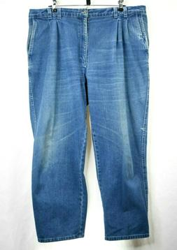 Dockers Mens Cotton Relaxed Fit Blue Jeans Pants 40 x 26