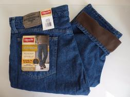 Wrangler Fleece Lined Relaxed Fit Jean Winter - Men's Size W