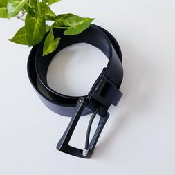 "Marino Avenue Men's Genuine Leather Belt 1.5"" Width Classi"