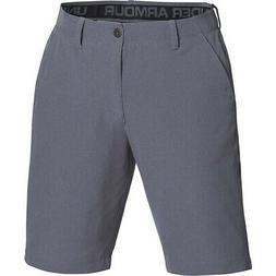 Under Armour Mens Golf Ua Airvent Flat Front Short