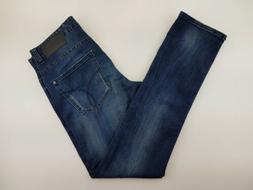 Calvin Klein Mens Jeans 32x32 Slim Fit Ripped Five Pocket Bl