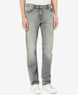 Calvin Klein Mens Jeans Gray Size 34X32 Classic Straight Leg