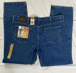 Men's Lee Jeans Size 42x32 Regular Fit, Blue Denim 2008944