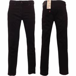 Mens Levi 511 Slim Fit Stretch Denim Black Jeans Sz 38x32 38