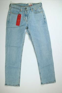 Mens Levis 514 Straight Fit Regular Light Blue Jeans NEW! NW